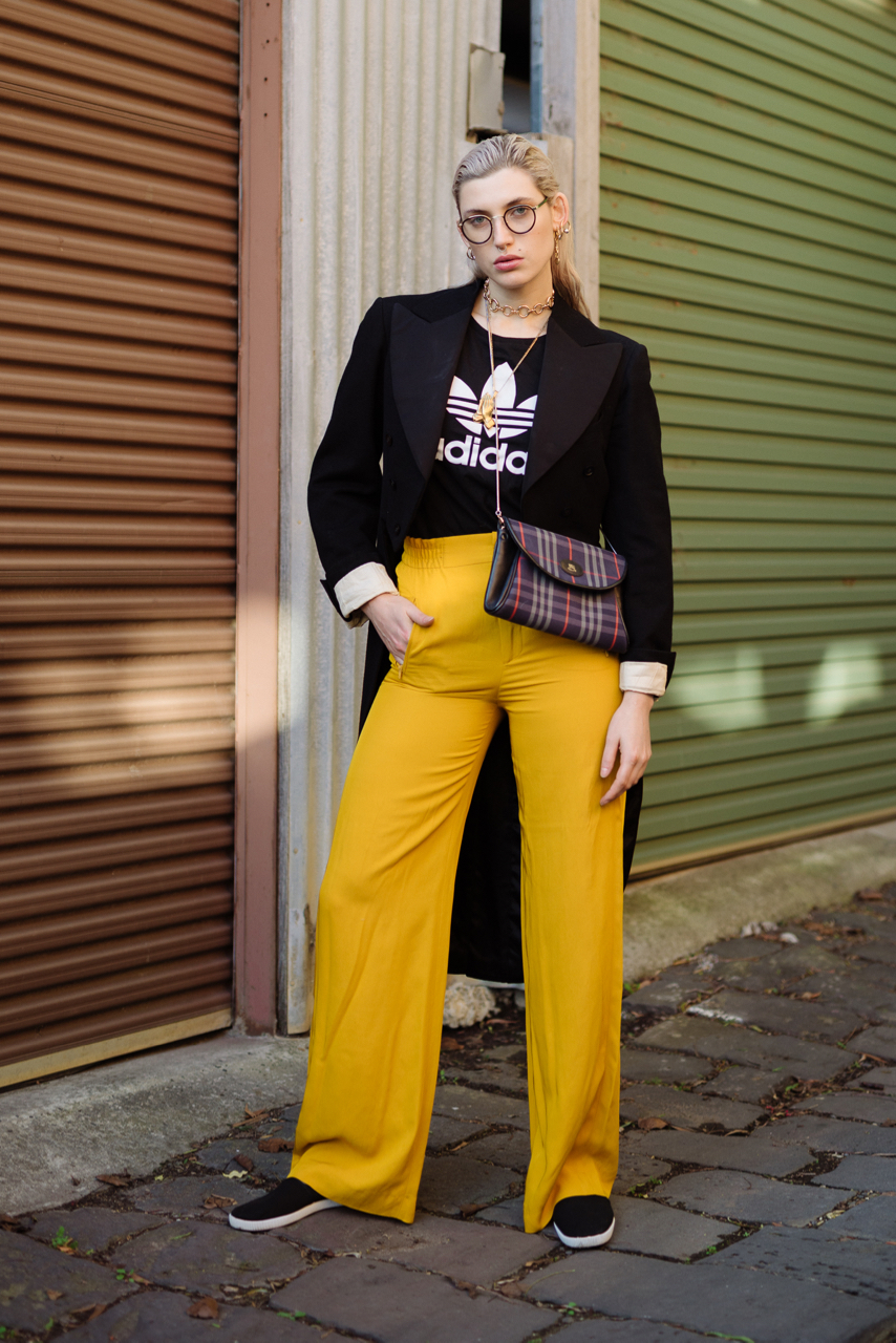 VIC: Hana Schlesinger, Model, Hawthorn. Photo: Dimitra Koriozos