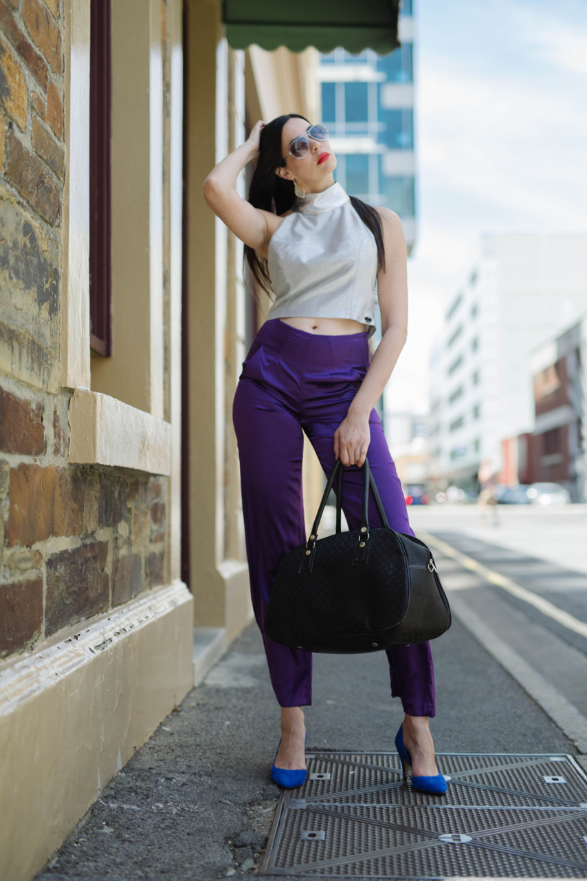 "SA: Sarika, Modelling Agency Director, Grenfell St, Adelaide. ""I love the freedom of expression you can portray through fashion, whether it's a mood, a trend, or an experience.""#sp"