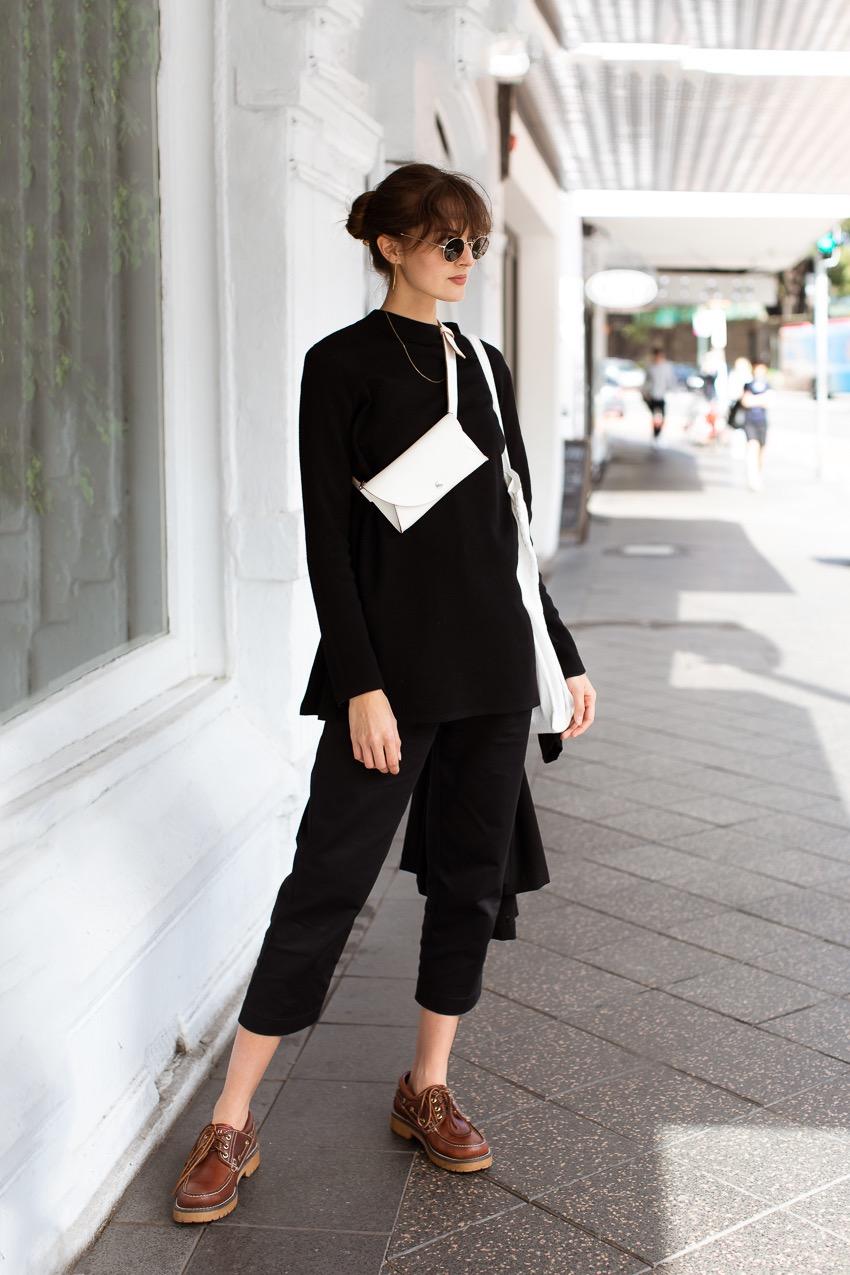 "Sydney: Karina, Model & Architect, Paddington, ""It's my first day here, I'm visiting from  Denmark"" Photo: Maree Turk."
