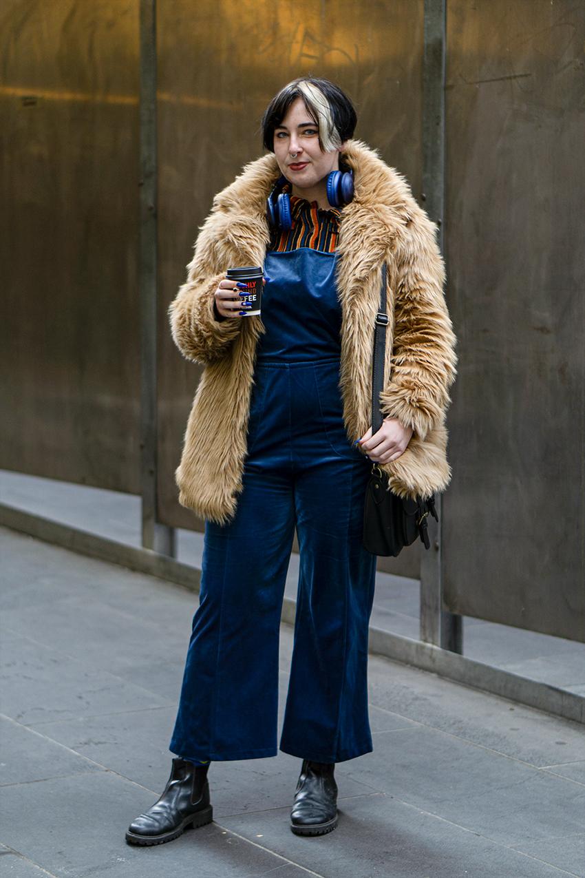 Melbourne: Charlotte Birde-Weber, Animator & Sales Assistant, Little Bourke St. Photo: Hannah Guyer
