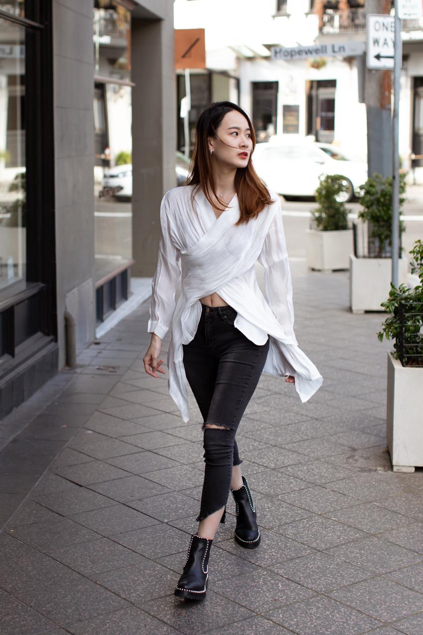 Street Style Australia - Sydney: Sia, Beautician, Glenmore St, Paddington. Photo: Maree Turk.