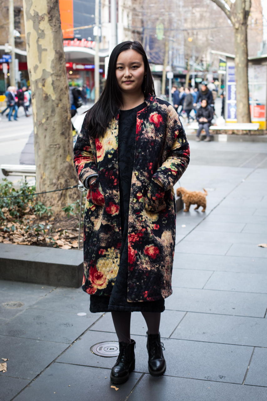 "VIC: Ding Ding, designer, Melbourne. ""Culture & tradition influenced"". Photo: Zoe Kostopoulos"