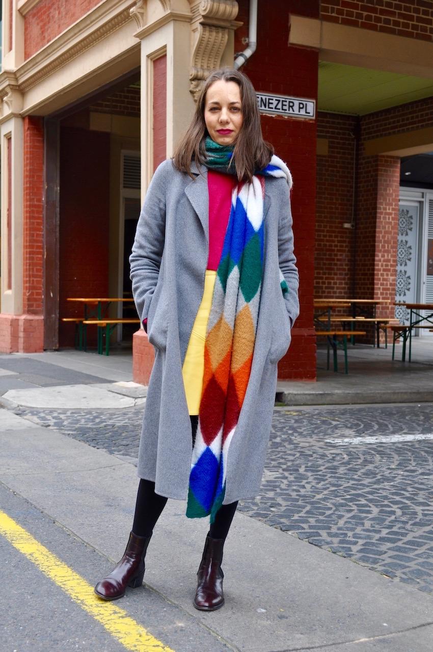 "SA: Rebecca Farraone, Director Colour Cosmetica, corner of Union St and Ebenezer Place Adelaide. ""I believe education equals success. Love what I do."""