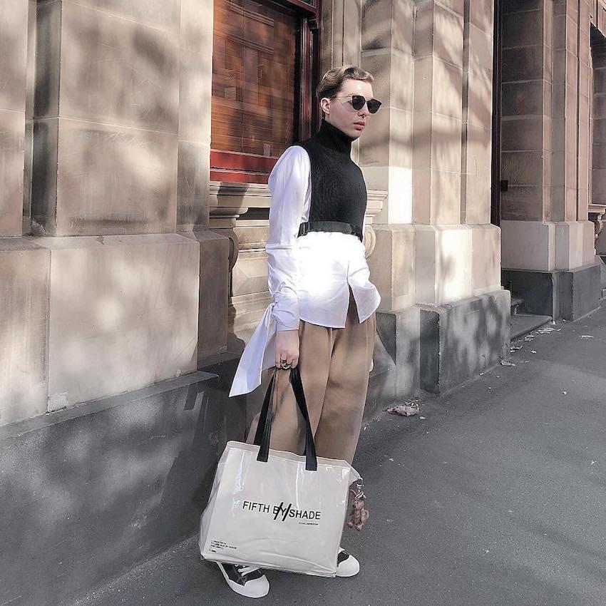 "Melbourne: Alex Vaniotis, Blogger, ""Midas Touch""."
