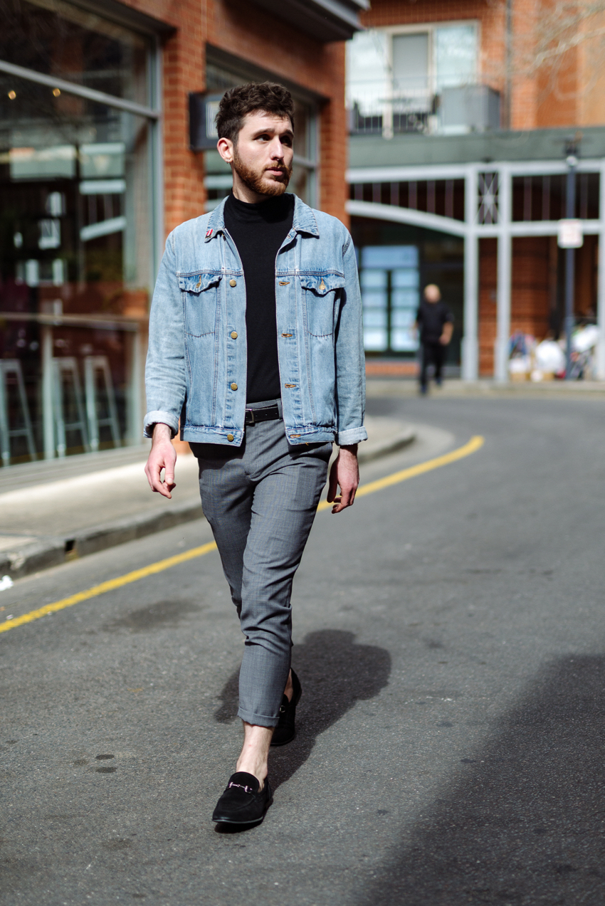 "Adelaide: Kosta Glykos, Retail Manager, <a href=""https://www.rundlestreet.com.au/?hl=en""target=""_blank"">Rundle Street East</a>. ""I'd describe my style as effortless but thoroughly thought out. I need to feel confident in any outfit to make it work."""