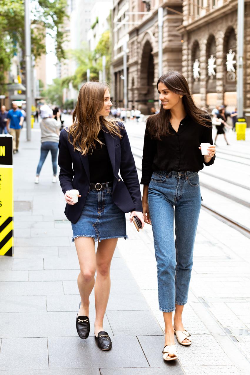 Sydney: Maddi & Jelena, George St. Photo: Maree Turk