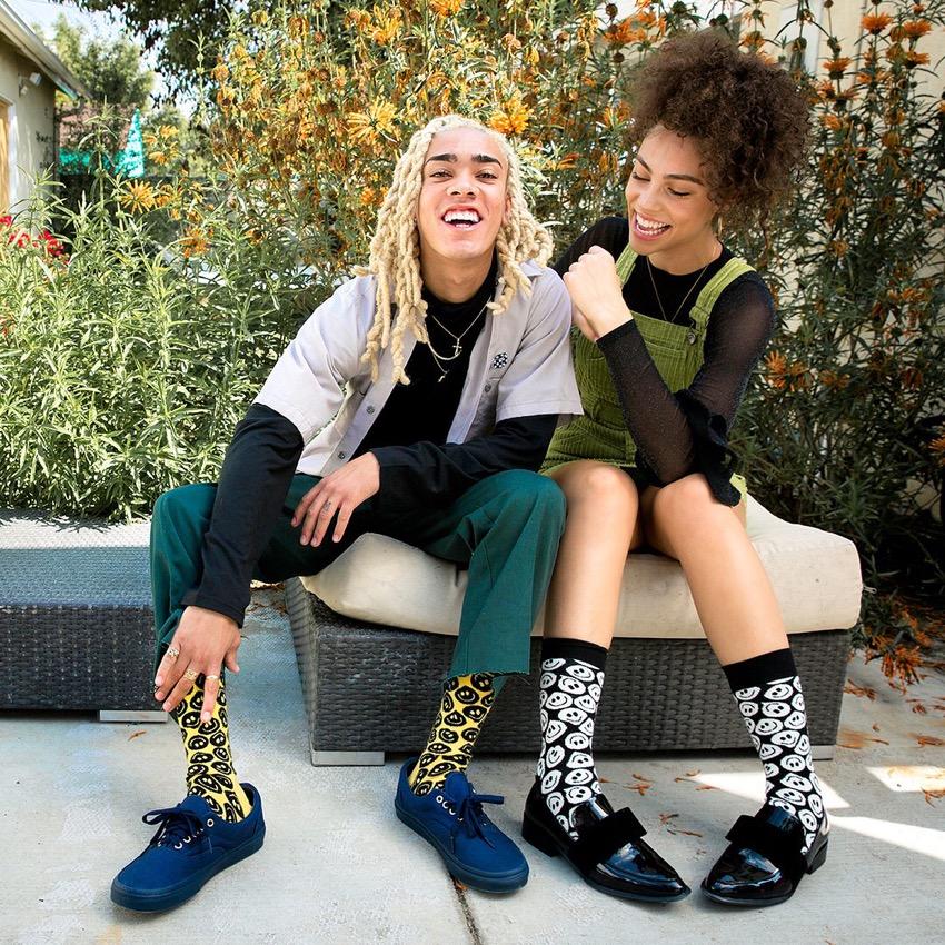 """Happy Socks Photo: <a href=""""https://www.instagram.com/happysocks/?hl=en""""target=""""_blank"""">@happysocks</a> #sp"""