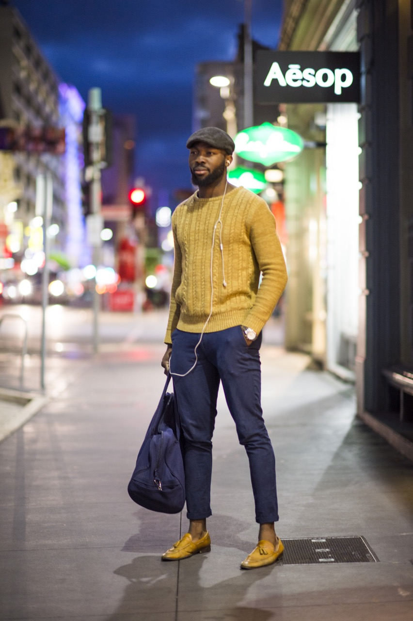 "SA: Gerald, student, Rundle St, Adelaide. ""It's a lifestyle."" Photo: Eli Francis"