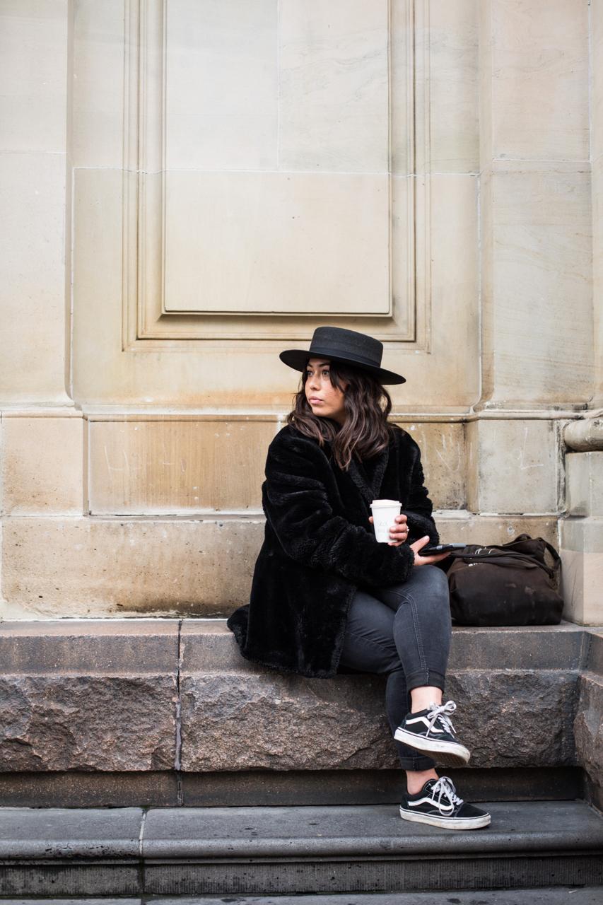 VIC: Nicole Williams, photographer, Bourke St, Melbourne. Photo: Zoe Kostopoulos