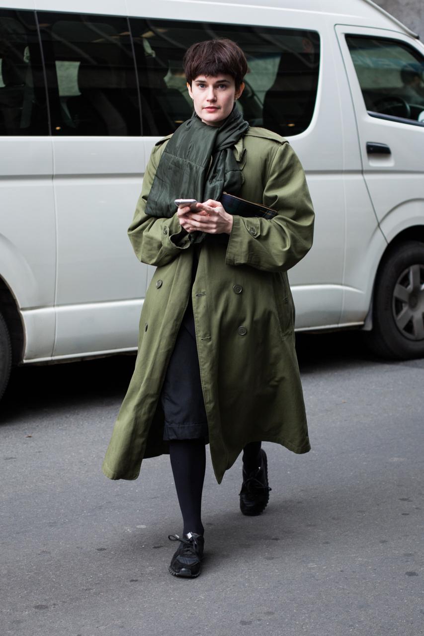VIC: Rosanna Hall, sales assistant, Little Bourke St, Melbourne. Photo: Zoe Kostopoulos