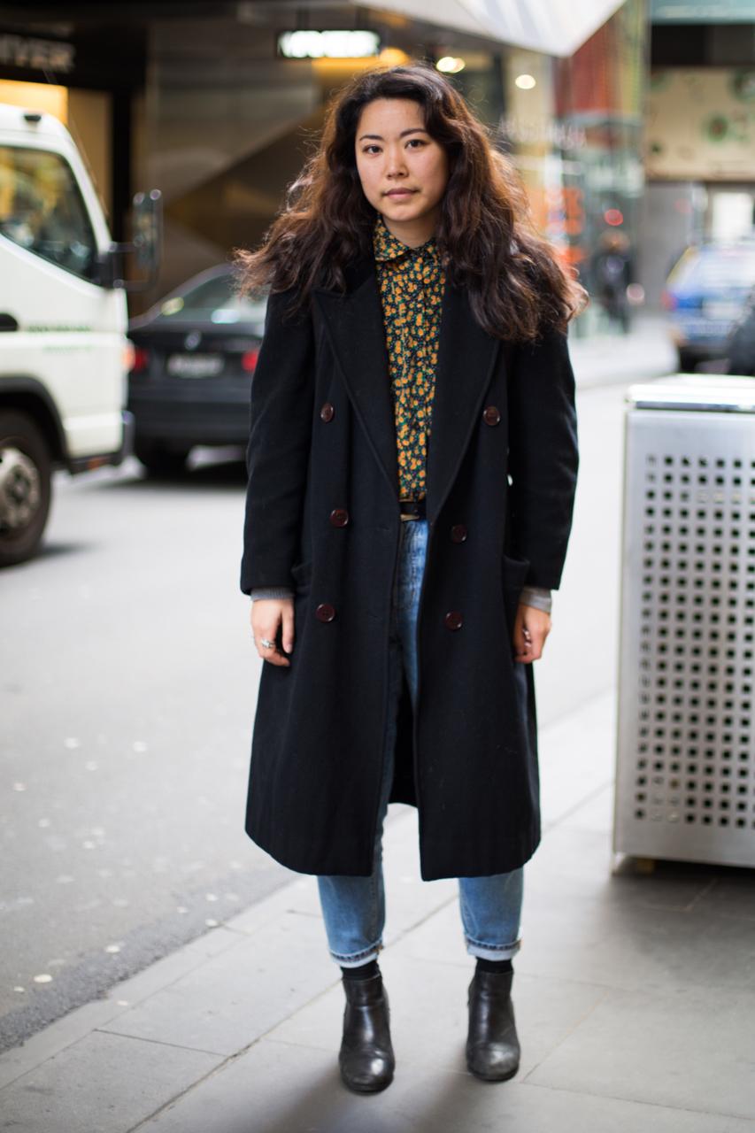 VIC: Liyan Gao, Little Bourke St, Melbourne. Photo: Zoe Kostopolous