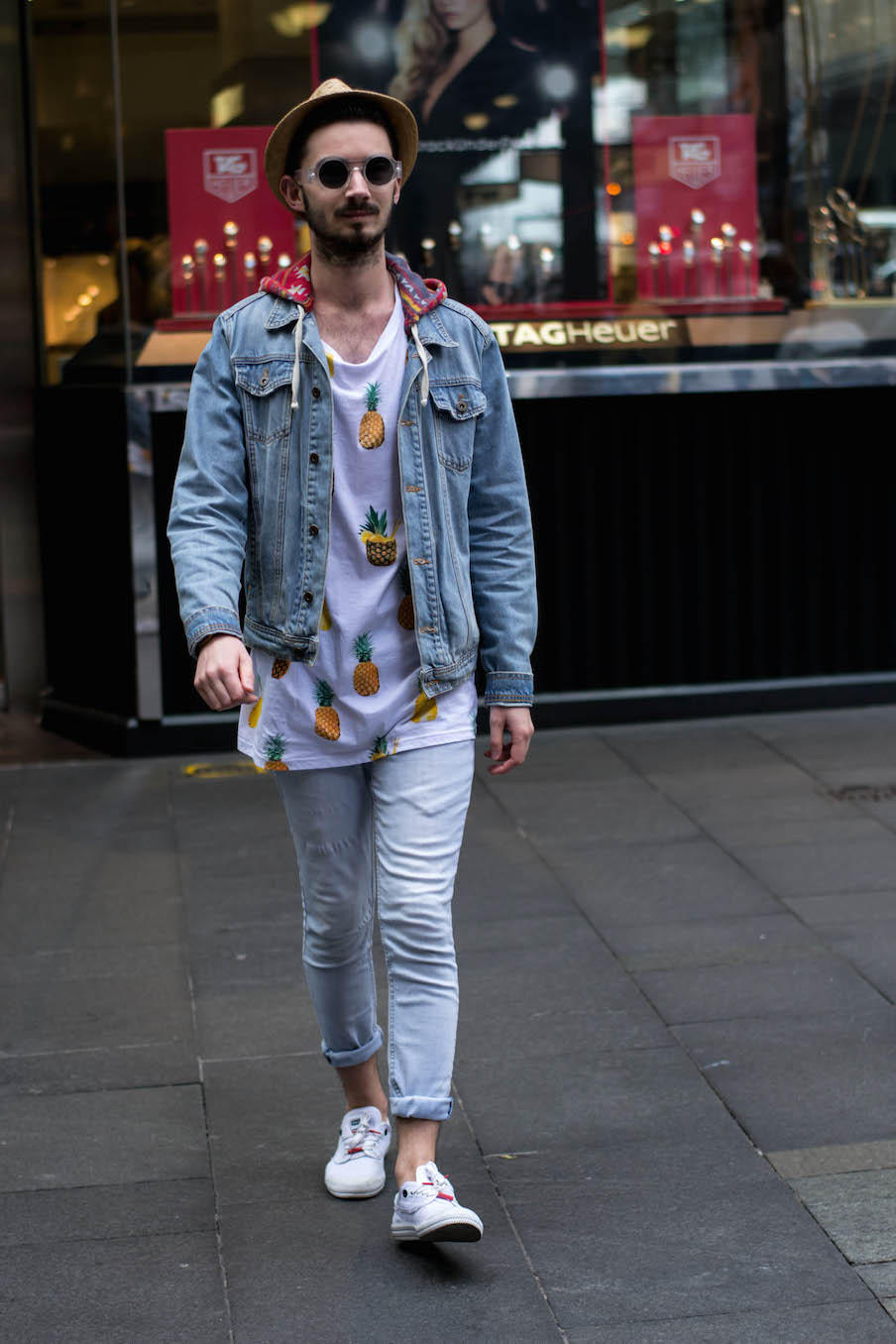 "NSW: Thomas Mitchell,  Topman sales advisor,  Sydney, CBD. ""Dress your best to always impress."" Photo: Alice Scriberras."