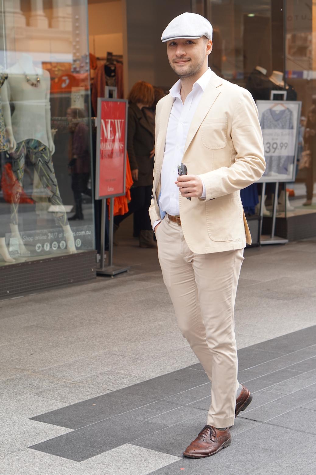 "SA: Afshin Hosseini, businessman, Rundle Mall. ""I'd describe myself as 'mysterious'"