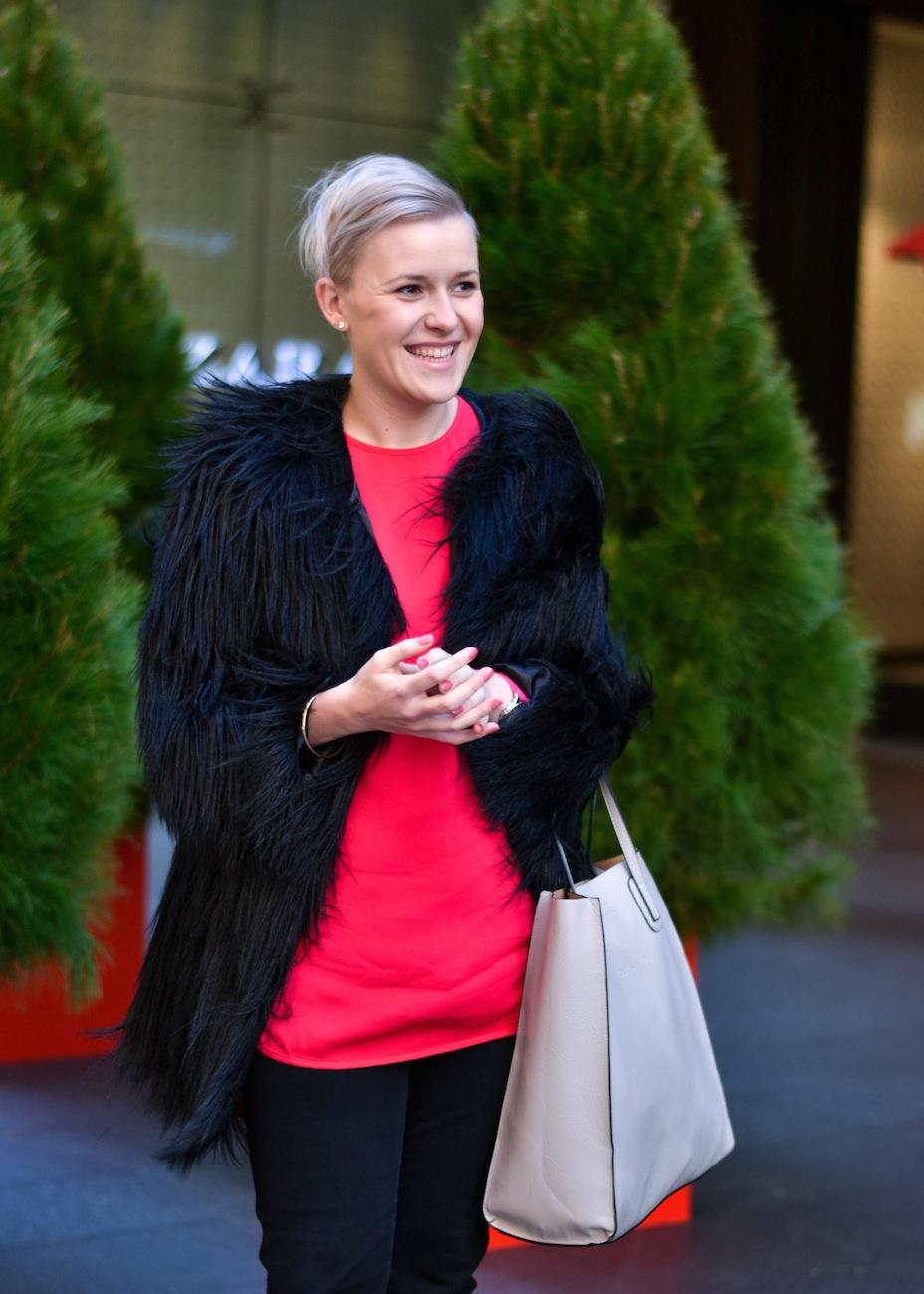 """NSW: Kia Coupland, Hairdresser, Pitt St. """"I wear what I like."""" Photo: Alice Scriberras"""