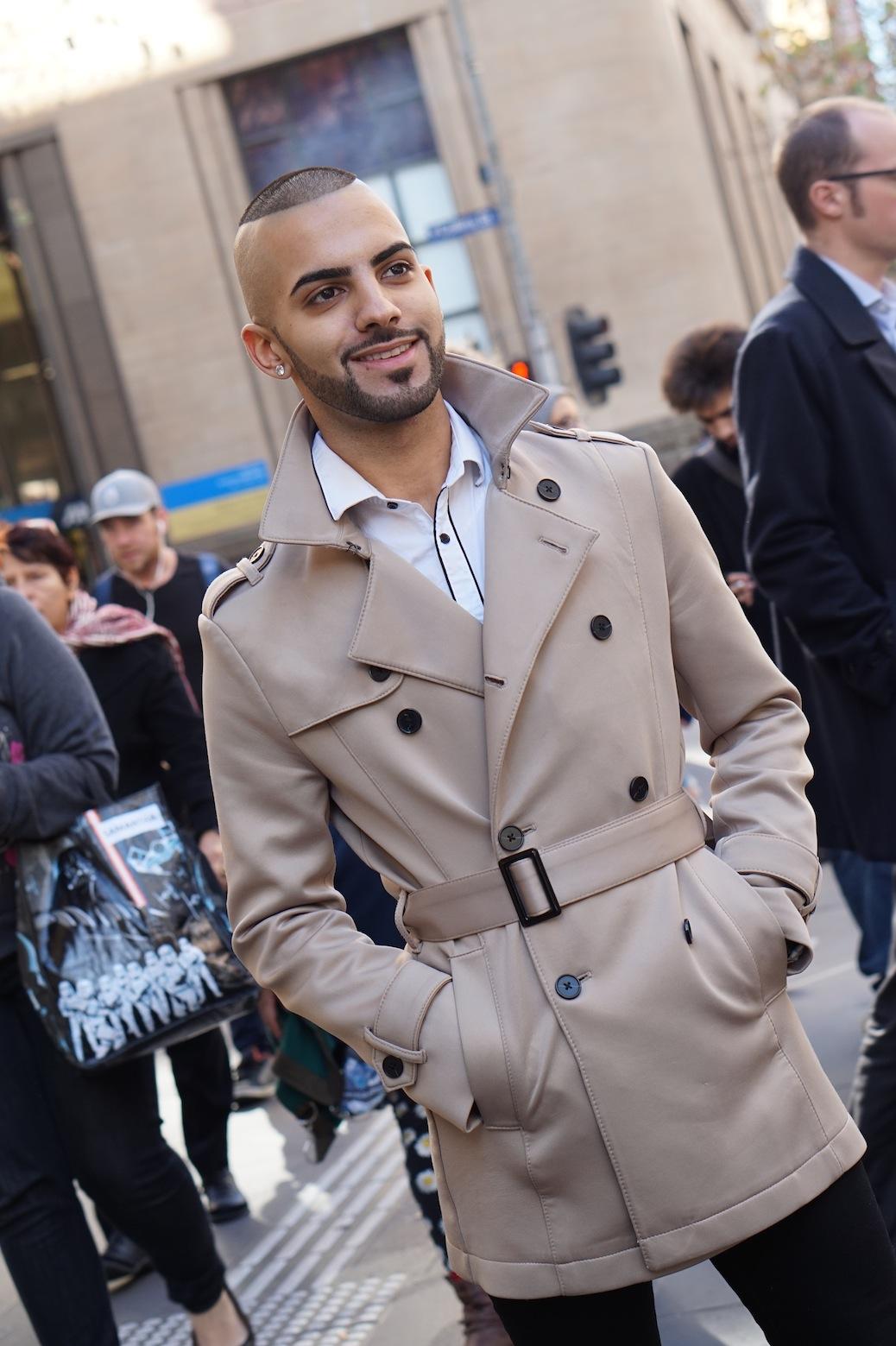 "VIC: Nabih Issa, Waiter & Barista, Elizabeth St, Melbourne. ""I'd say my style is versatile."""