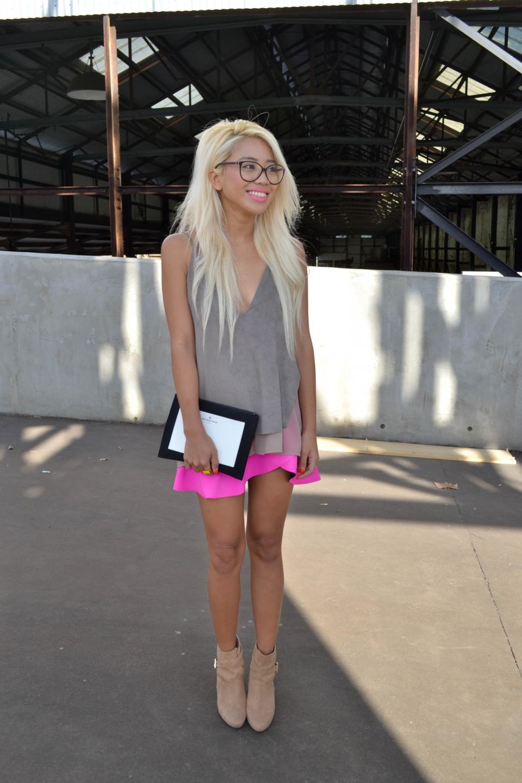 NSW: Hazel Suarez, stylist at Carriage works during Fashion Week, Sydney. Photo: Alice Sciberras