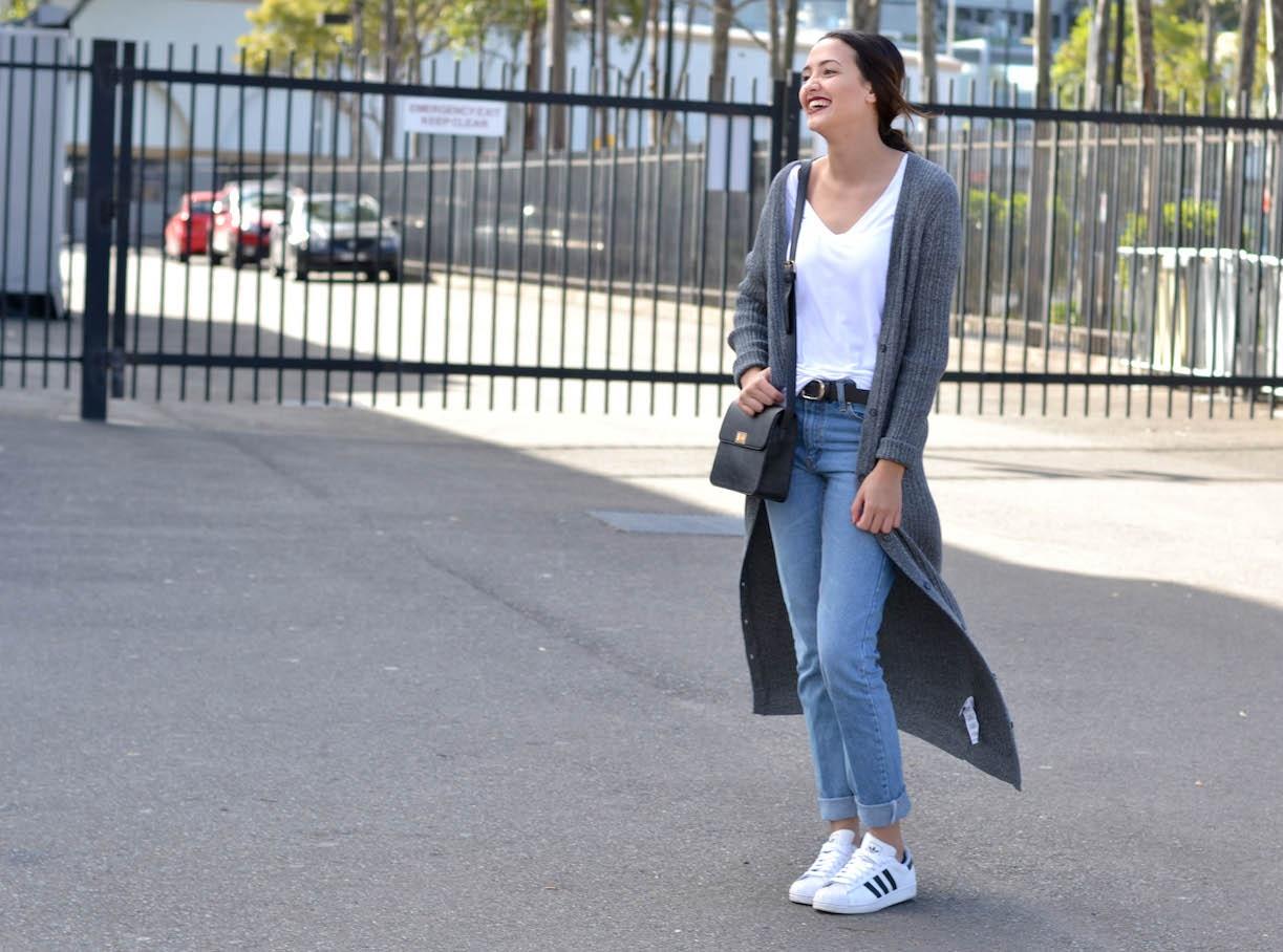 "NSW: Ashlee Lawrence, Fashion Week Sydney. ""My style is minimalistic and basic."" Photo: Alice Scriberras"