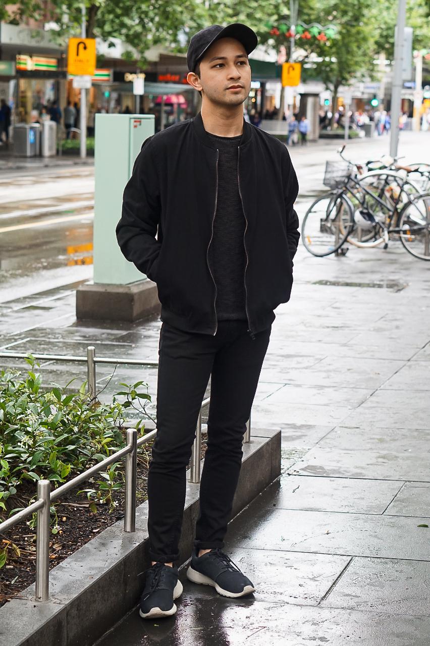 VIC: Daniel, student, Swanston St, Melbourne.