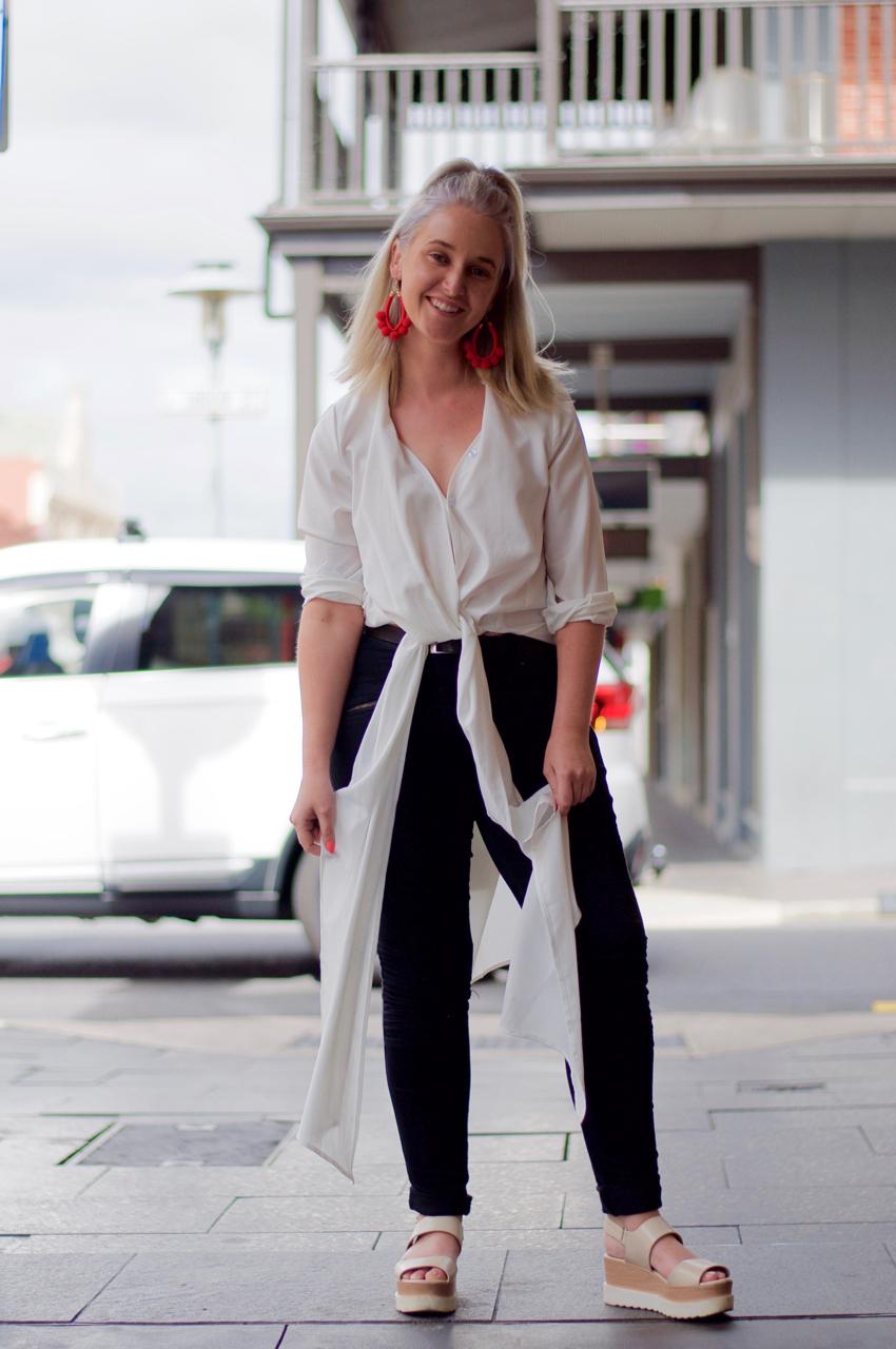 SA: Mim Harvey, Designer, Rundle St, Adelaide. #sp