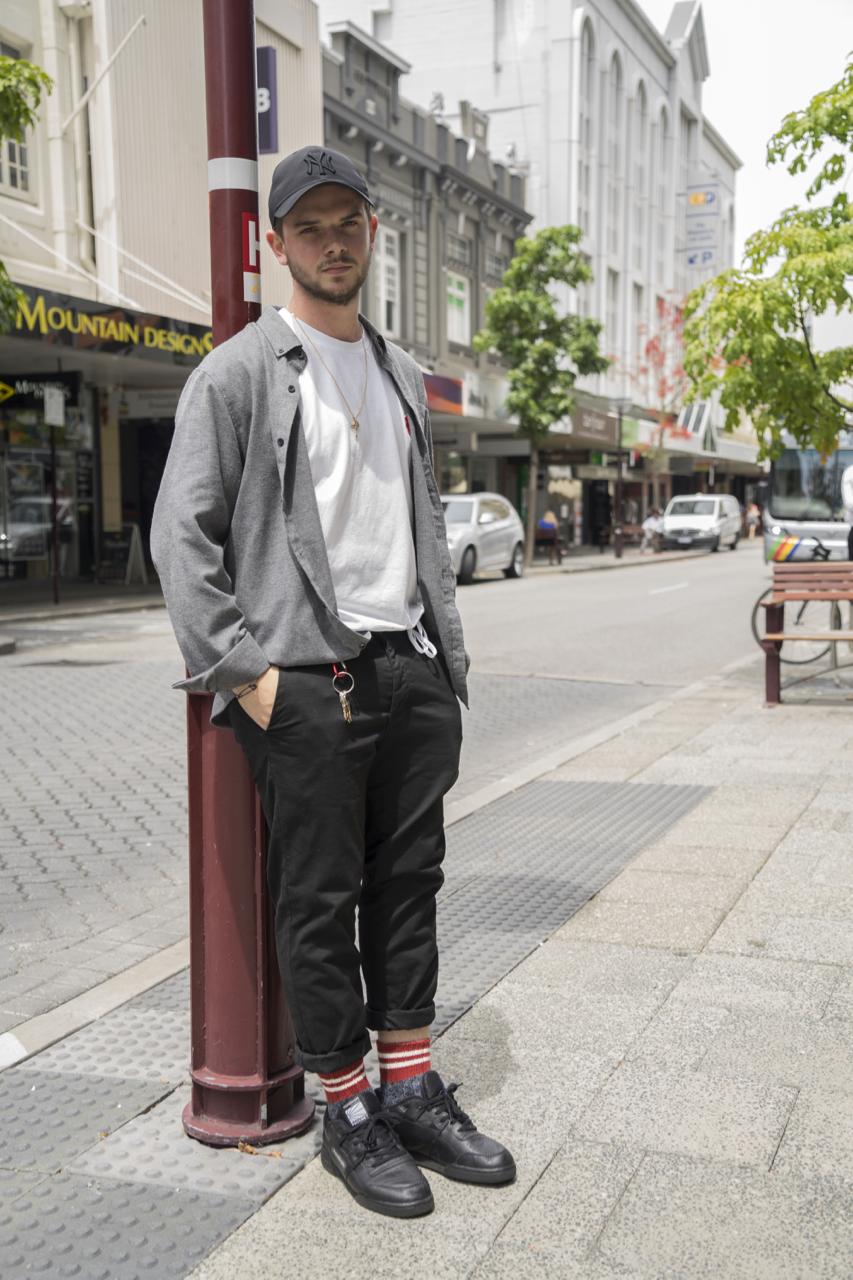WA: Gabriel, Retail Professional, Hay St Perth. Photo: Strato Sarris