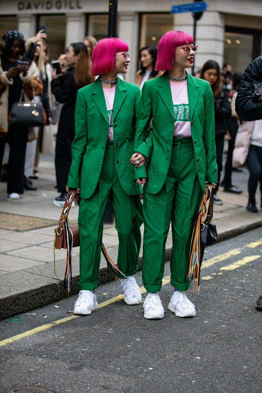 """London: <a href=""""https://www.fashionista.com/""""target=""""_blank"""">Fashionista</a>"""