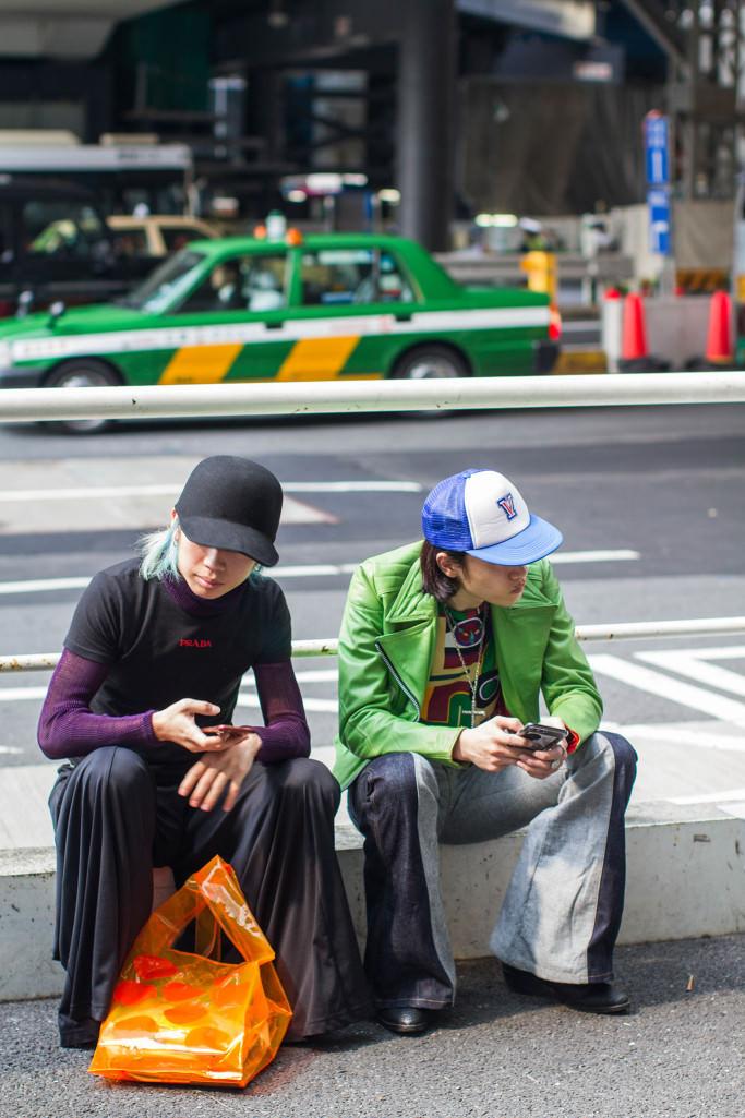 """Tokyo: <a href=""""https://wwd.com""""target=""""_blank"""">WWD</a>"""