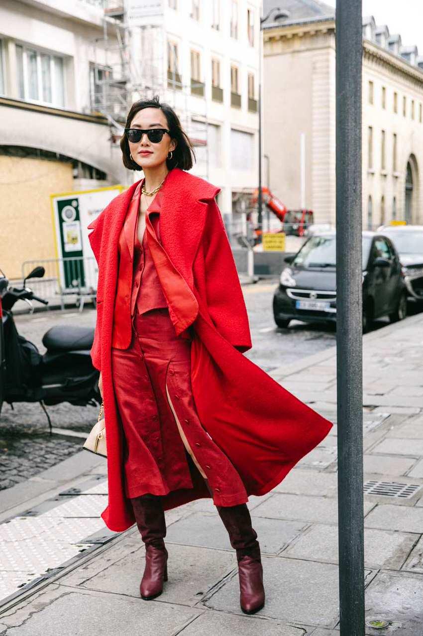 "International Street Style Fashion - Paris: <a href=""https://www.thecut.com""target=""_blank"">The Cut</a>"
