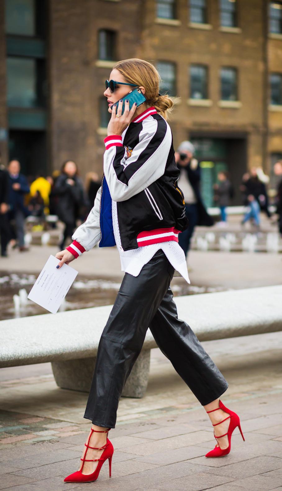 "Paris:<a href=""http://instagram.com/styledumonde/""target=""_blank""> Olivia Palermo</a>"