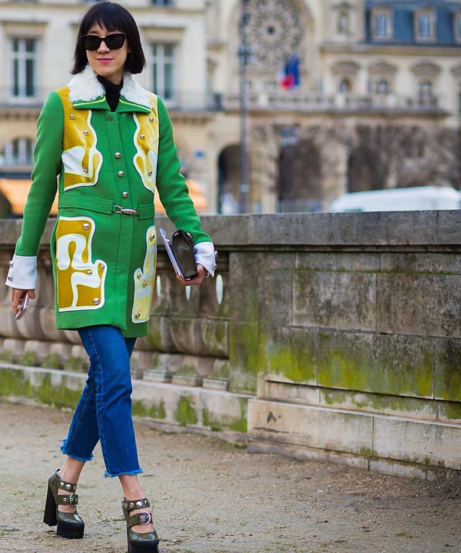 "Paris: via <a href=""http://instagram.com/styledumonde/""target=""_blank"">Style Du Monde</a>"