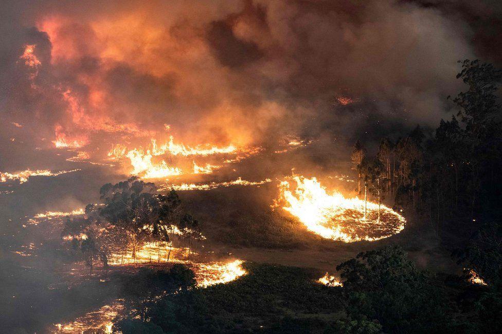 Bairnsdale, Victoria. East Gippsland region. Image: AFP