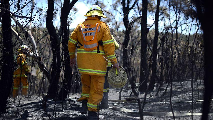 Blue Mountains, NSW.  Image: Saeed KHAN / AFP