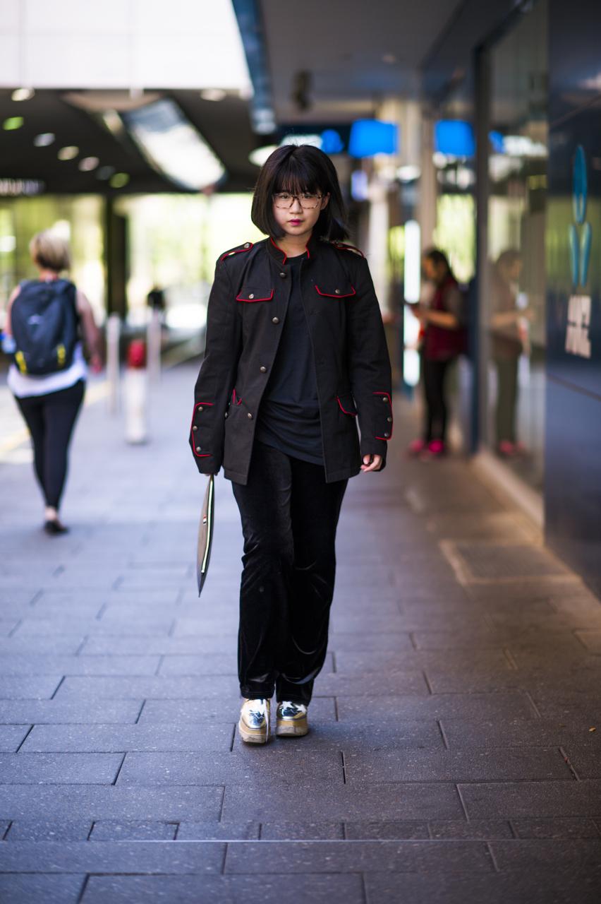 SA: Ruiqing Zhang, student, Adelaide. Photo: Eli Francis