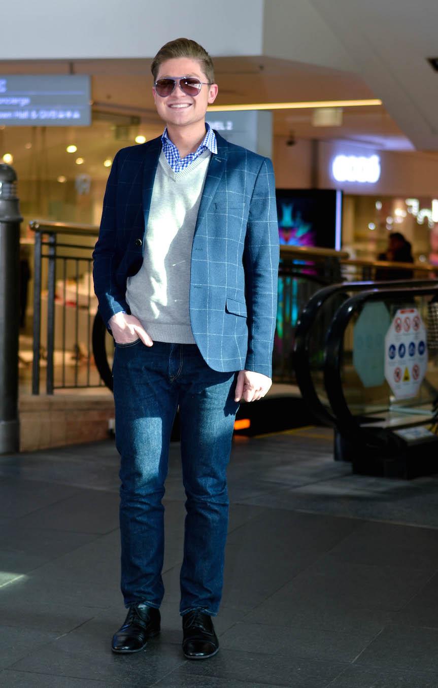 NSW: Matthew Ongarello, publicist, Pitt St, Sydney. Photo: Alice Scriberras