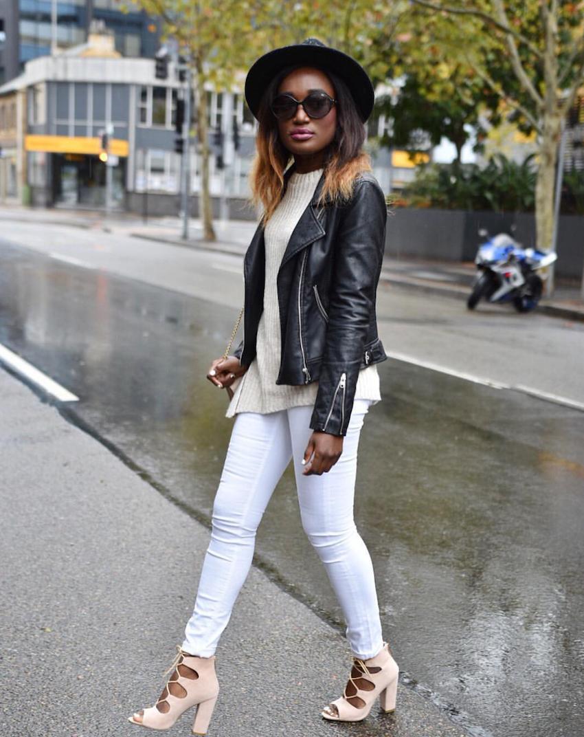 "NSW: Bee, Fashion Blogger, Sydney. ""I love fresh neutrals."""