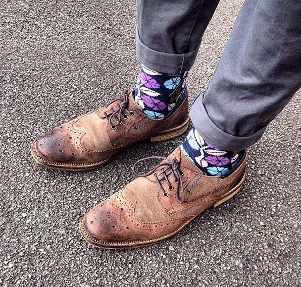 """Happy Socks. Photo: <a href=""""https://www.instagram.com/eskricke/"""" target=""""_blank"""">@esricke</a>"""