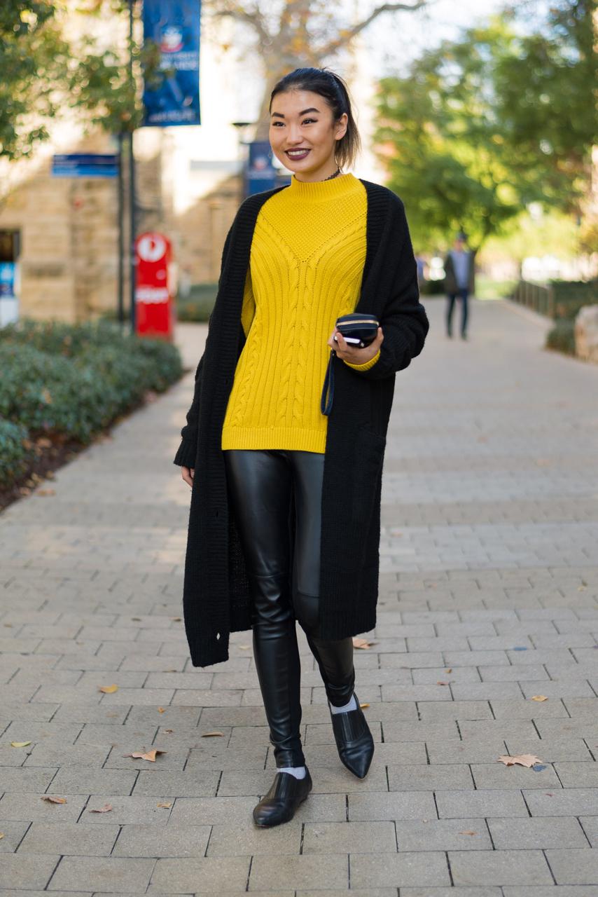 SA: Pamela, Student, snapped at Adelaide Uni, North Terrace