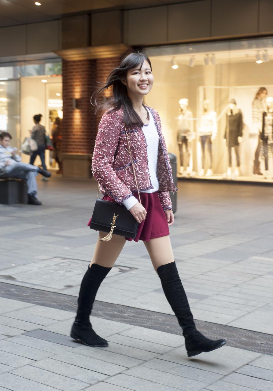 "NSW: Shuwen, Photographer, Sydney. ""My style is classic feminine."" Photo: Rachel Yabsley"