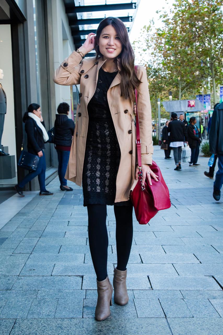 "WA: Helen Le, Banking, Murray Street, Perth. ""I wear whatever I find."" Photo: <a href=""http://www.rahstudios.com.au/street-style.html/"" target=""_blank"">Alain Quah</a>"