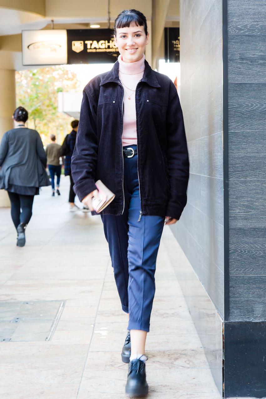 "WA: Chantelle Milanese, Model, Murray St Mall. Photo: <a href=""http://www.rahstudios.com.au/street-style.html/"" target=""_blank"">Alain Quah</a>"