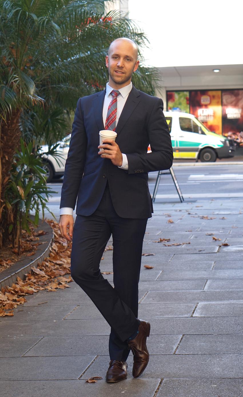 "SA: Nick Pelvay, Director, Grenfell St, Adelaide. ""I love Adelaide."""