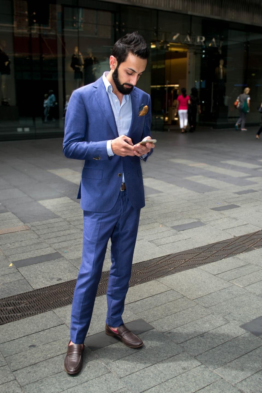 "NSW: Farzan Abass, retail menswear, Sydney. ""I'd describe my style as smart casual.""  Photo: Alice Sciberras"