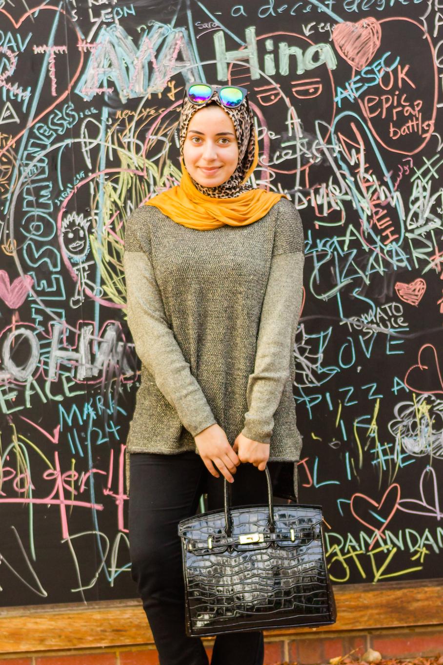 "WA: Ruqaia, Curtin University. ""I love dressing up."" Photo:  <a href=""http://www.rahstudios.com.au/street-style.html/"" target=""_blank"">Alain Qah</a>"