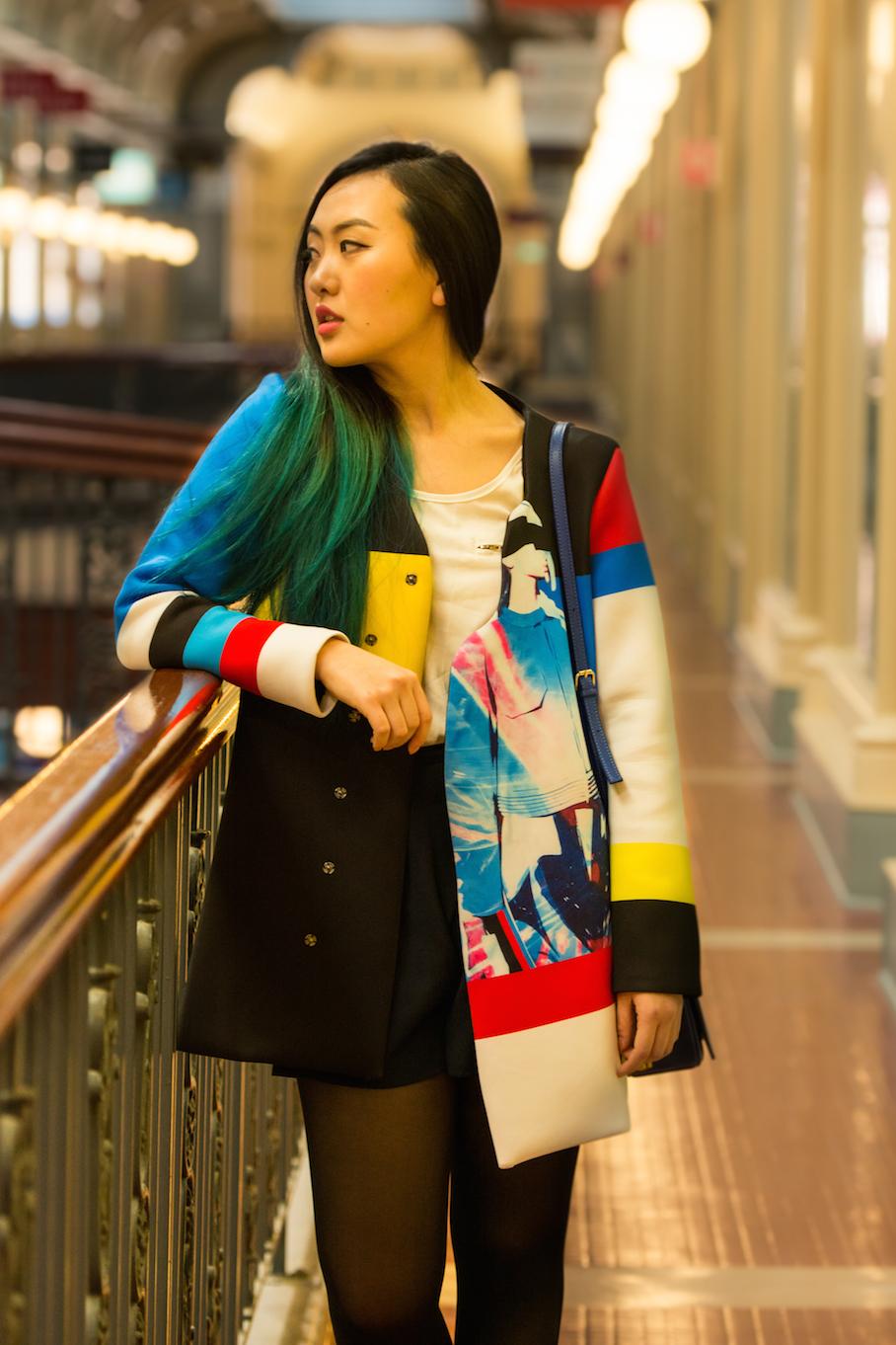 SA: Vicki Chiang, Adelaide Arcade, city.