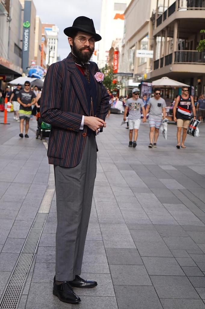 SA: Blake Canham-Bennett, Hattier, Rundle Mall, Adelaide