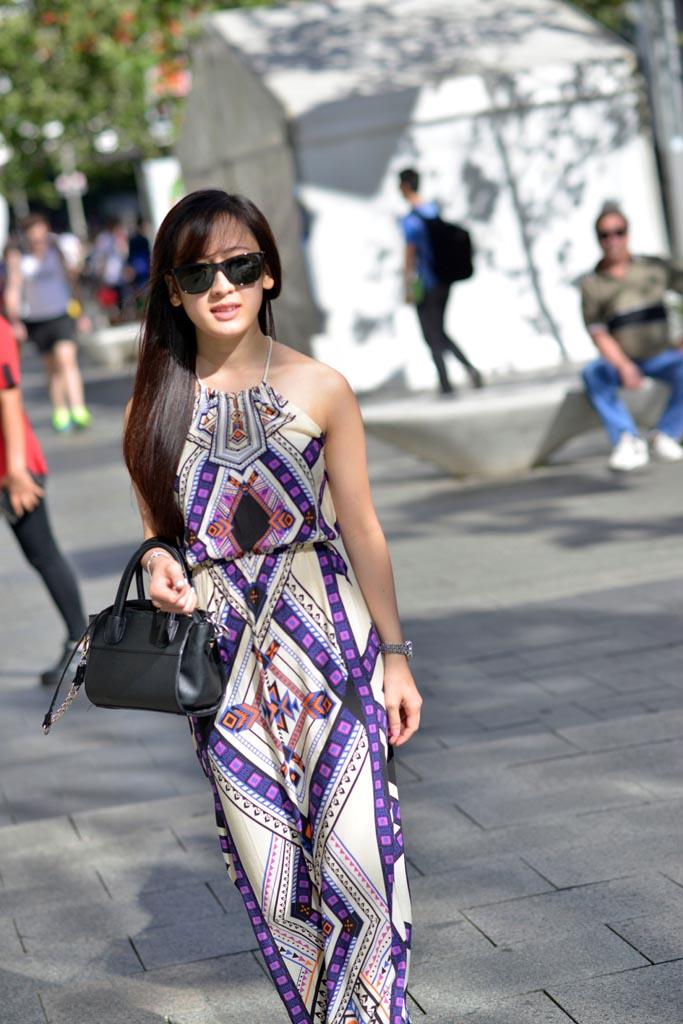 WA: Adelyn Lee, student, Perth City. Photo:Alan Wu