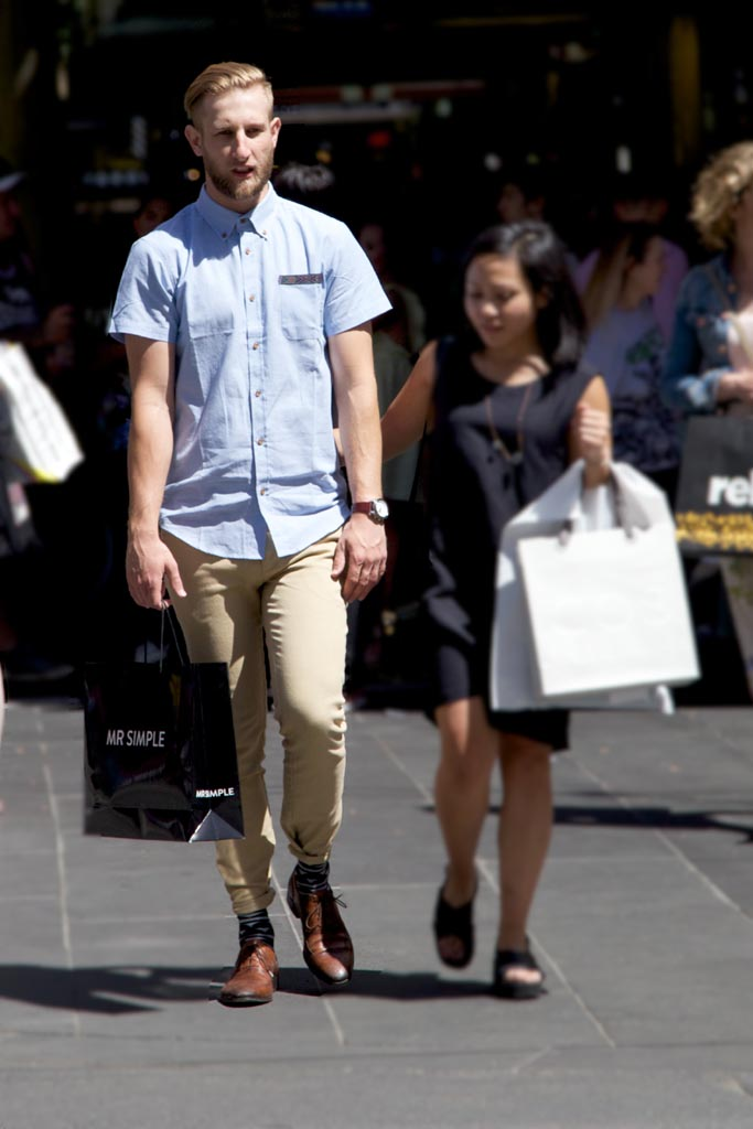 VIC: Unknown, snapped by Kiyoshi-Riki in Bourke Street Mall