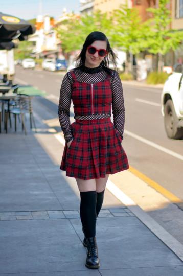 "Adelaide: Kiara Bellet, Retail, Rundle St. ""It's gotta be fun and alternative."""