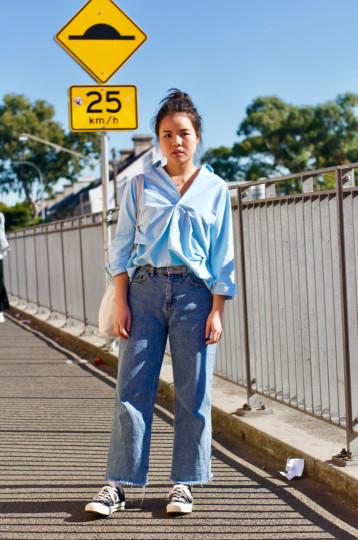 "Sydney: Albee, student, Lawson St Redfern. ""On my way to class."""