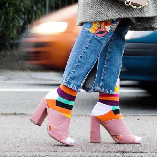"Happy Socks. Photo: <a href=""http://www.instagram.com/themermaidfashion/"" target=""_blank"">@themermaidfashion</a>"