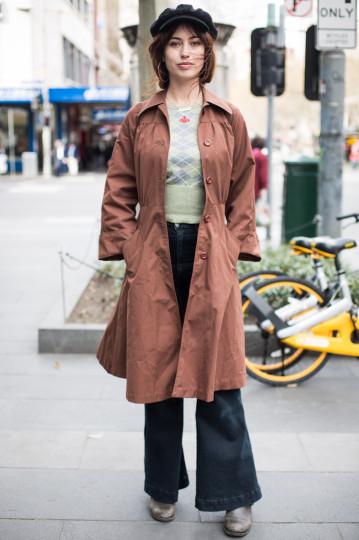 VIC: Sofi Krige, student, Melbourne CBD. Photo: Zoe Kostopoulos